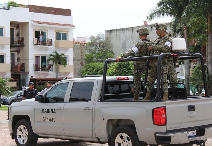 Se contará con el apoyo de las fuerzas federales como la Secretaría de Marina y la Policía Federal. (Adrián Barreto/SIPSE)