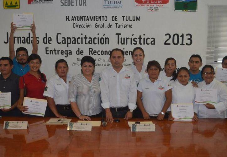 El trabajo y el esfuerzo de los empleados fue reconocido. (Redacción/SIPSE)