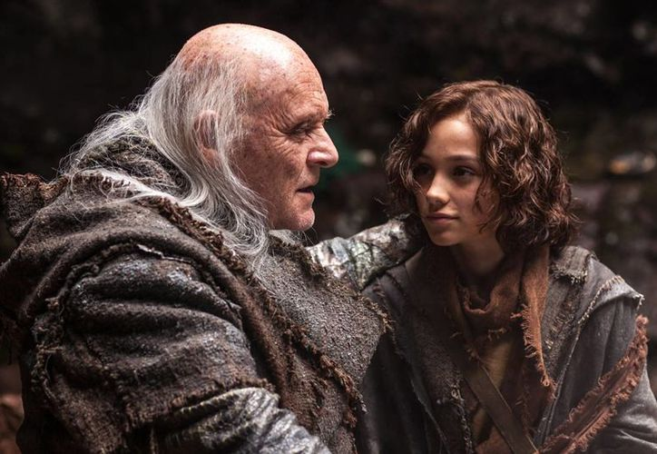 En 'Noah', Anthony Hopkins interpreta a Matusalén. (noelapelicula.com.mx)