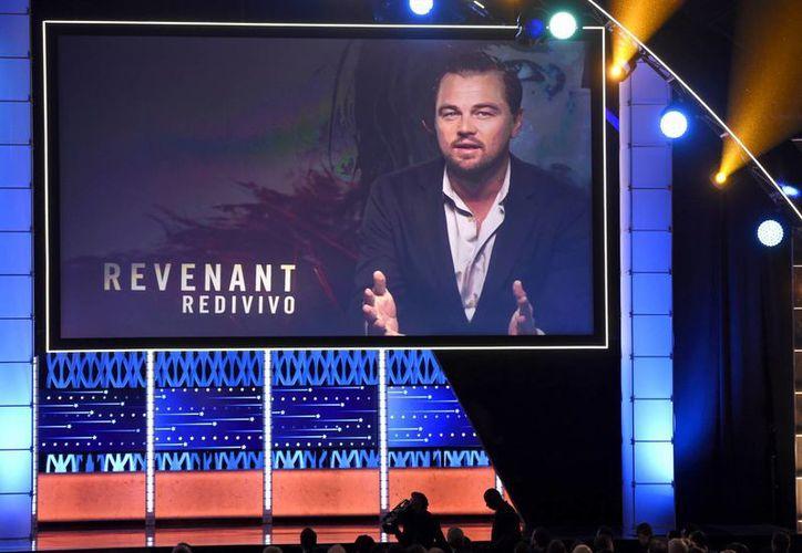 Leonardo DiCaprio envió un mensaje tras ganar mejor actor dramático en cine, debido a que no asistió a la ceremonia. (Agencias)