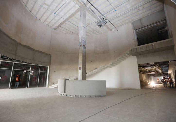 Imagen de los interiores del nuevo nosocomio. (SIPSE)