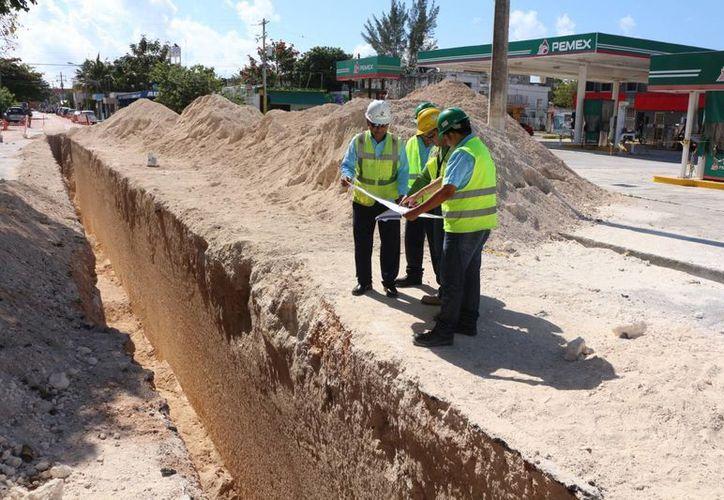 En este mismo año quedaría lista la construcción del cárcamo de rebombeo que se ubicará en la planta de tratamiento Gonzalo Guerrero. (Adrián Barreto/SIPSE)