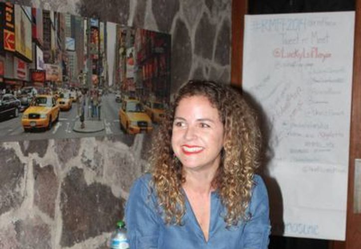 Paula Chaurand, directora del festival de la Riviera Maya. (Adrián Barreto/SIPSE)