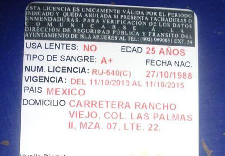 Se han recepcionado alrededor de cinco casos de licencias de conductor falsas. (Eric Galindo/SIPSE)