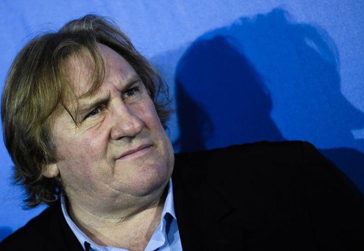 Gerard Depardieu sigue dando de qué hablar más allá de sus logros fílmicos. (Agencias)