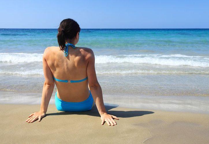 El agua salada permite relajar los músculos. (Internet)