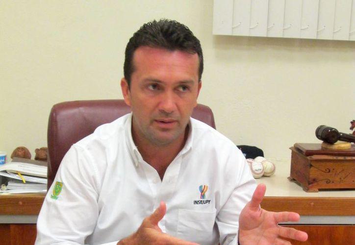 Clemente Escalante Alcocer, director del Registro Público de la Propiedad. (Milenio Novedades)