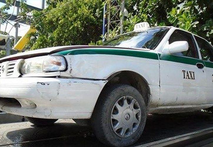 Las autoridades están tras la pista de la banda dedicada al robo de taxis. (Foto: Eric Galindo)