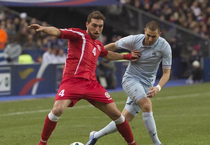 Benzema acumuló 930 minutos sin anotar con 'Les Bleus'. (Foto: Agencias)