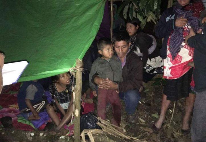 La organización Servicios para la Paz (Serapaz) alertó sobre la actual crisis de violencia en Chalchihuitán. (Foto: Meganoticias)