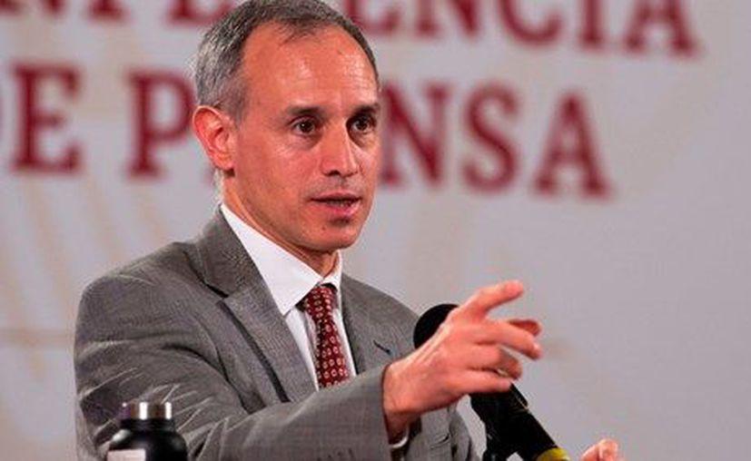 El subsecretario de Prevención y Promoción de la Salud, Hugo López-Gatell. (Foto: Twitter).