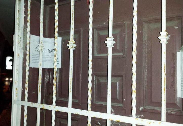 Imagen del bar que fue clausurado. (Milenio Novedades