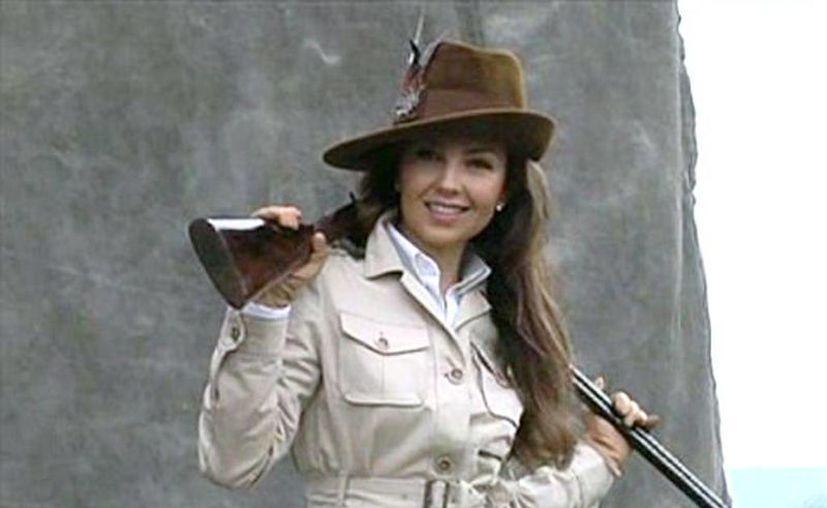 Usan video de WSJ para atacar a Thalía por apoyar la caza deportiva. (live.wsj.com)