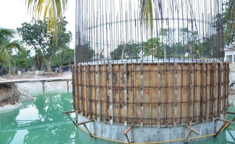 El cárcamo permitirá recolectar, tratar y evitar la contaminación en playas y mantos freáticos por descargas de aguas residuales. (Redacción/SIPSE)