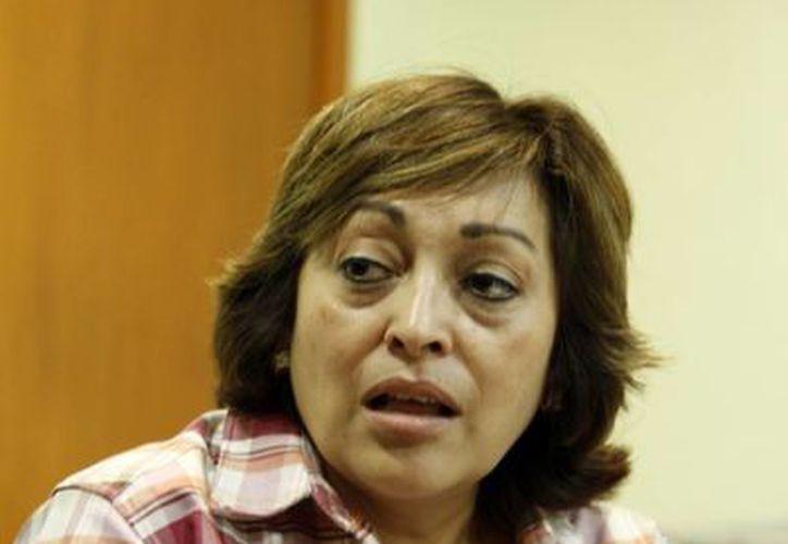 Gabriela Zapata Villalobos, directora de Educación Media Superior de Yucatán. (Milenio Novedades)