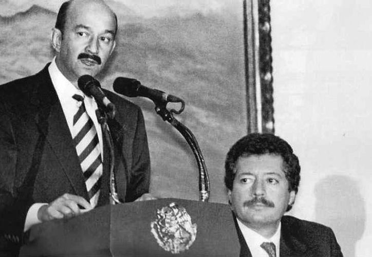 Carlos Salinas y Luis Donaldo Colosio. (Foto: Especial)