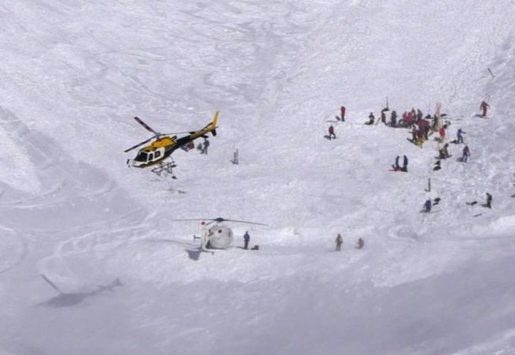 El accidente se registró en la zona del glaciar de Pisaillas, cerca de la cima de la montaña el Étale. (Foto: @RMCinfo)
