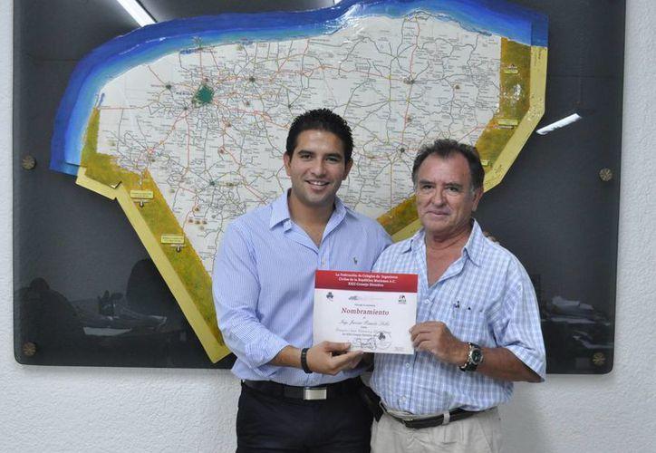 Javier Renán Osante, titular del INCAY, tendrá un cargo de alcance nacional. (SIPSE)