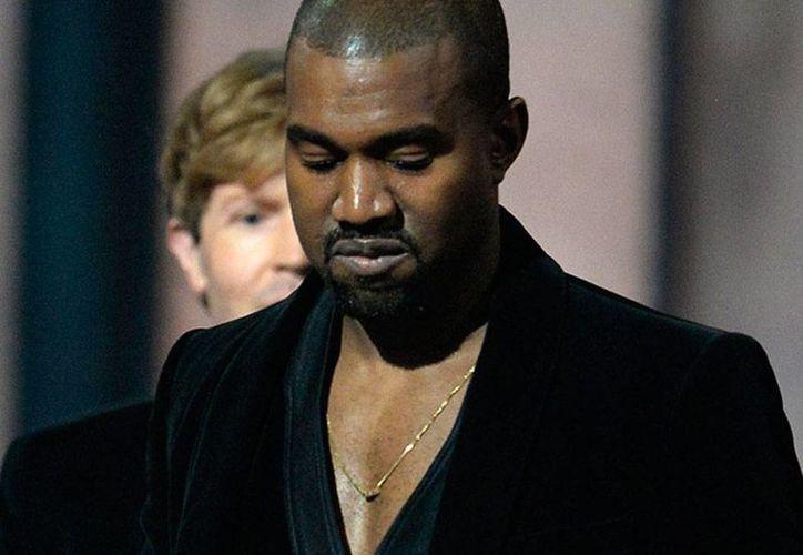 Kanye West se arrepintió de haber criticado los premios Grammy. Dijo que todo se trató de una broma. (archivo/excelsior.com.mx)