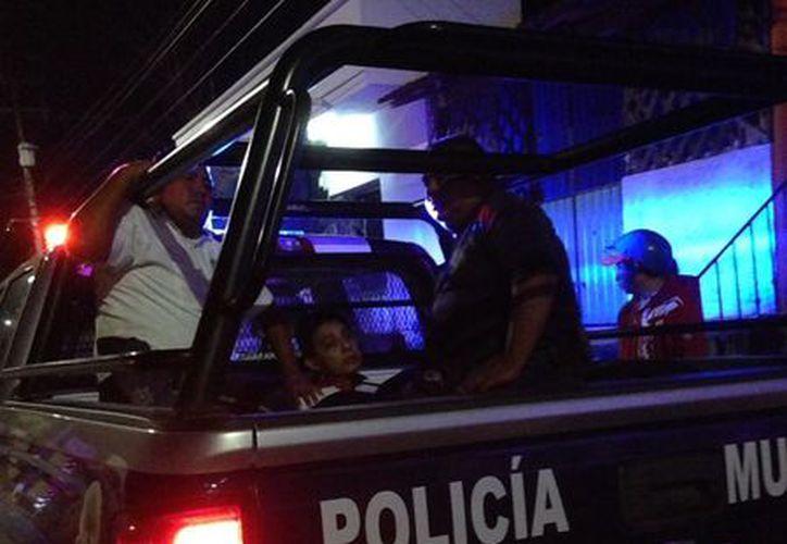 El rector fue detenido cerca del lugar de los hechos. (Alejandro Poot/SIPSE)