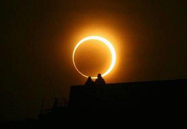 El segundo eclipse del 2014 será anular de Sol, y se espera que ocurra el 29 de abril. (yumeki.org)