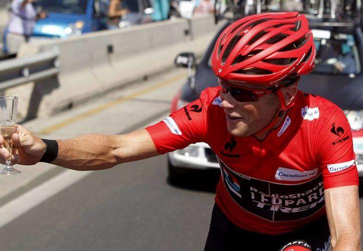 Horner se llevó una Vuelta 'que ni él mismo esperaba'. (EFE)
