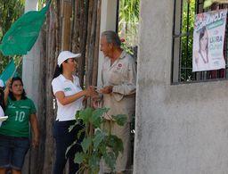 Habrá predios regularizados en Puerto Morelos: Laura Fernández