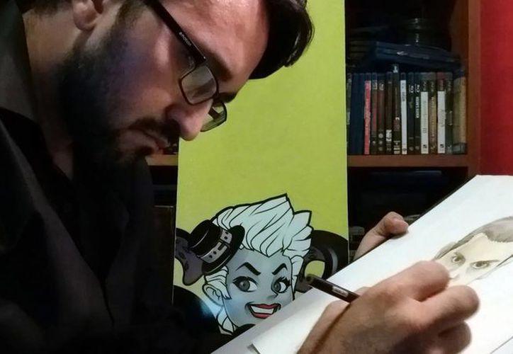 Antonio Osuna, especialista en manga, dará un taller de Dibujo Básico en Cancún. (Cortesía)
