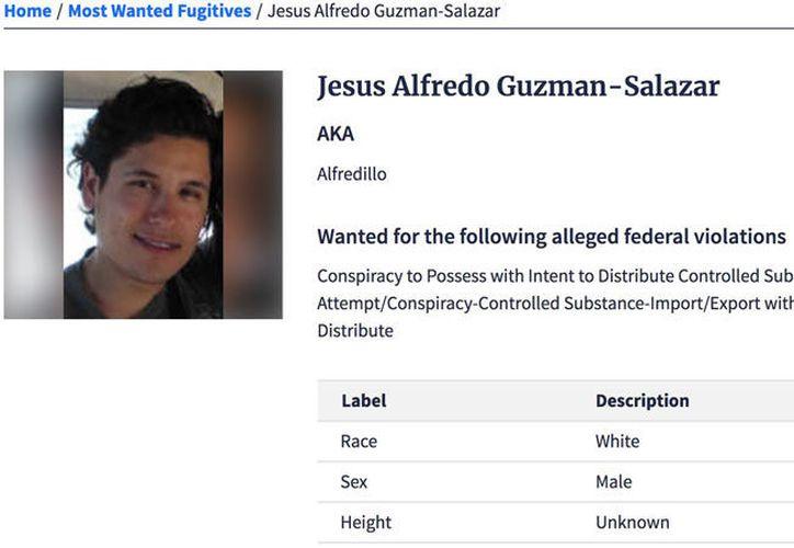 Las autoridades del vecino país buscan a 'El Alfredillo' para procesarlo en una Corte de Chicago, Illinois. (@DEAHQ)