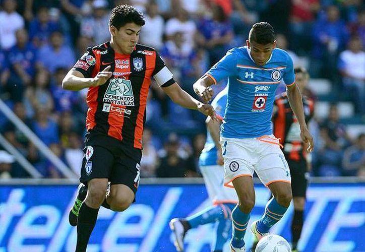 Pachuca y Cruz Azul dieron decepcionante espectáculo sin goles este sábado con un empate a cero en la jornada 12 de la Liga MX. (Mexsport)