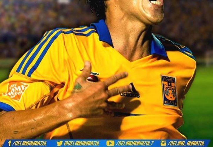 Lucas Lobos se erigió como estandarte de Tigres y sus actuaciones le valieron para sumarse al Tri, pero ni un minuto jugó en la etapa de Víctor Manuel Vucetich. (Facebook/Lucas Lobos)