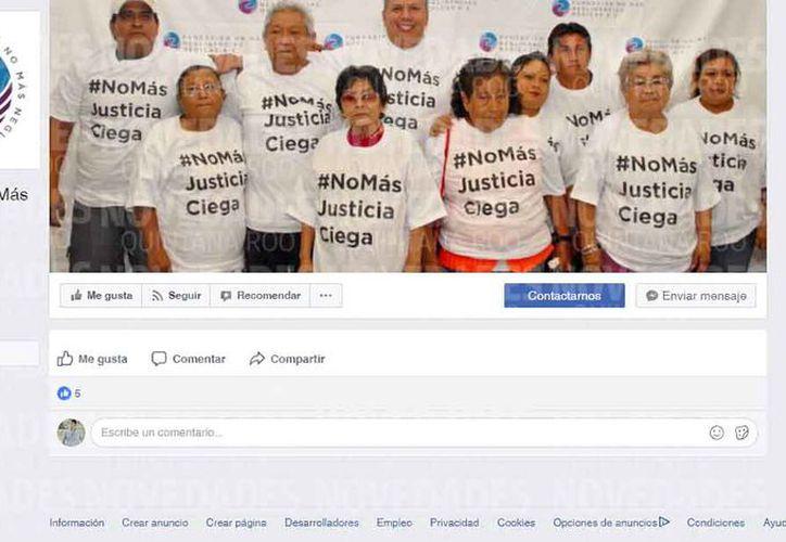 Las víctimas son apoyadas por una fundación. (Jesús Tijerina/SIPSE)