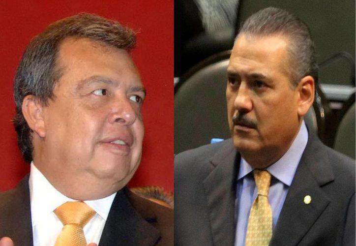 Represor y de borracho  fue el debate entre los dos miembros de la clase política mexicana. (Sipse.com)