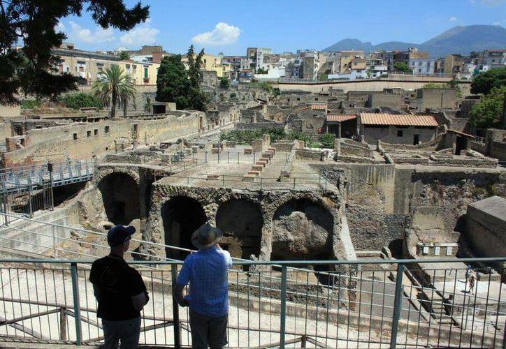 El comerciante que se mató en la pequeña ciudad de Herculano se dedicaba a vender flores.(guias-viajar.com/Archivo)