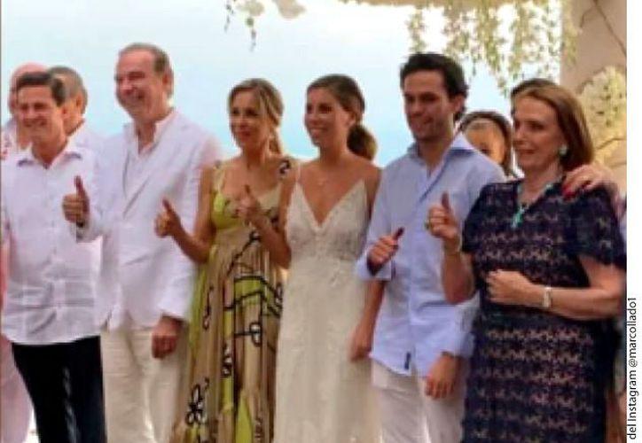 Collado celebró la boda de su hija en el Estado de México y tuvo como invitados a Peña Nieto. (Agencia Reforma)