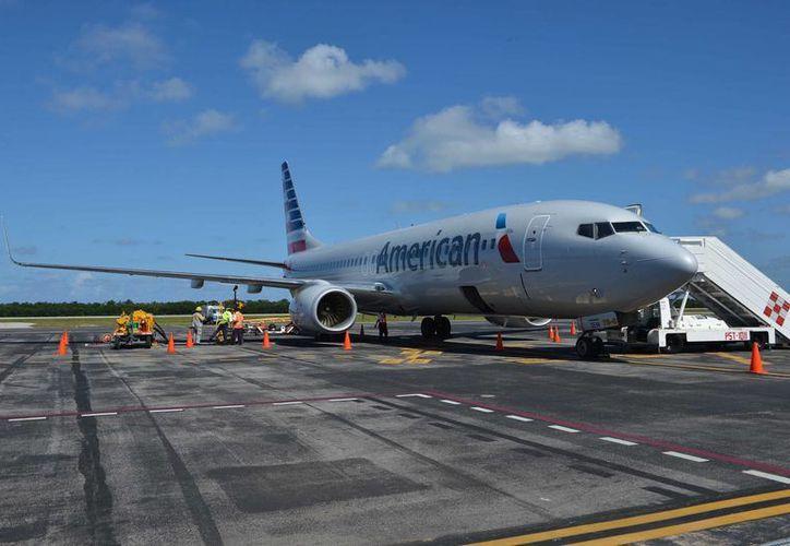 De acuerdo con estadísticas de la empresa Aeropuertos del Sureste, durante este mes arribarán 50% menos vuelos que durante abril.  (Julian Miranda/SIPSE)