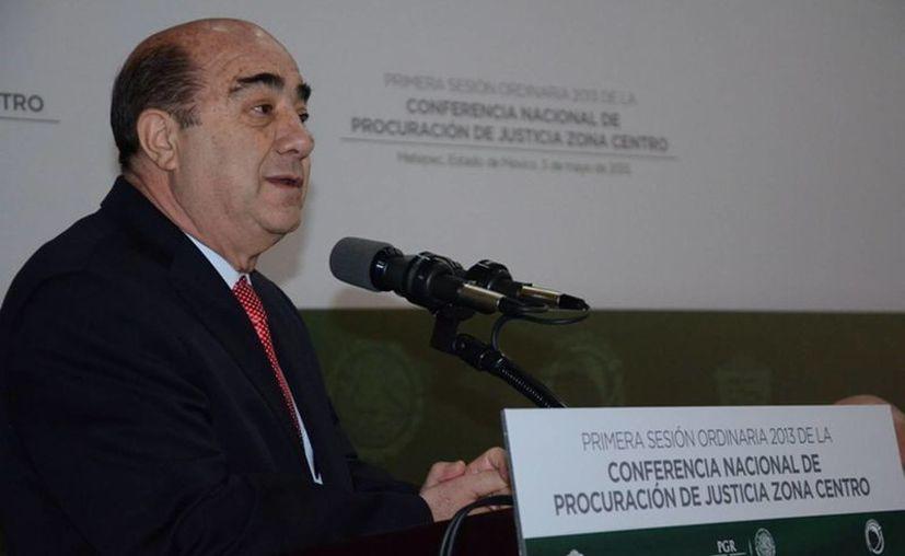Murillo Karam pidió castigar los abusos de la patrulla fronteriza contra mexicanos. (Archivo/Notimex)
