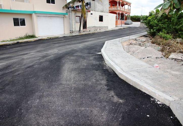 Estos trabajos iniciaron en los alrededores de la nueva unidad deportiva y recreativa de Ciudad Mujeres. (Lanrry Parra/SIPSE)