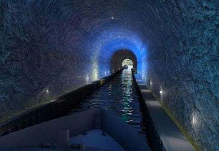Será necesario eliminar ocho millones de toneladas de piedra para el proyecto9. (Infobae)