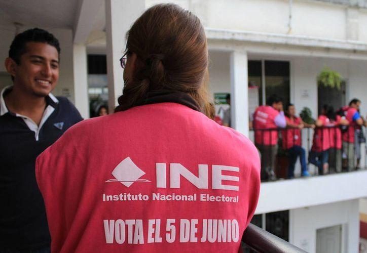 La jornada electoral será el próximo domingo 5 de junio. (Jesús Tijerina/SIPSE)
