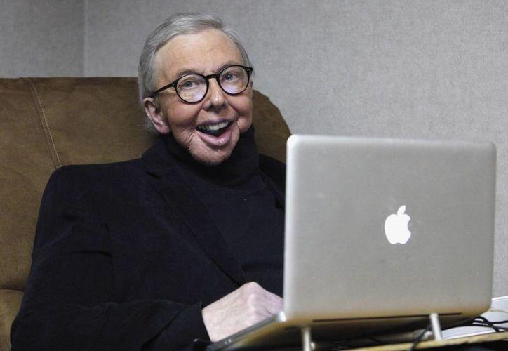 En 1975, Roger Ebert recibió un Premio Pulitzer a la crítica de cine. (Agencias)
