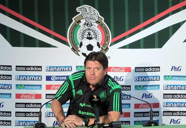 'El Piojo' Miguel Herrera recordó que México ya ha llegado a dos finales de Copa América, en 1993 y 2001, pero nunca ha ganado la competencia. (Foto de archivo de Notimex)