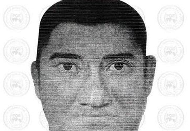 """El violador buscado en Tabasco tiene entre 25 y 30 años de edad, es robusto y de tez clara, y tiene un tatuaje de la """"Santa muerte"""" en uno de los antebrazos. (Foto: Fiscalía General de Tabasco)"""