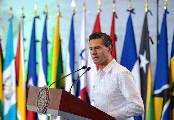 El presidente de México, Enrique Peña Nieto, llegará a Cancún el 5 de diciembre para participar en la COP 13. (MVS)