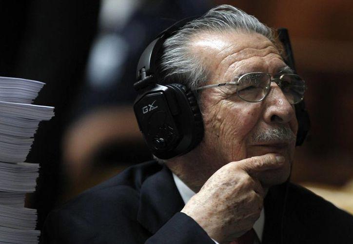 Ríos Montt fue hospitalizado de emergencia el 13 de mayo pasado. (Reuters)