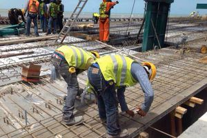 Avanza viaducto alterno al muelle fiscal de Progreso