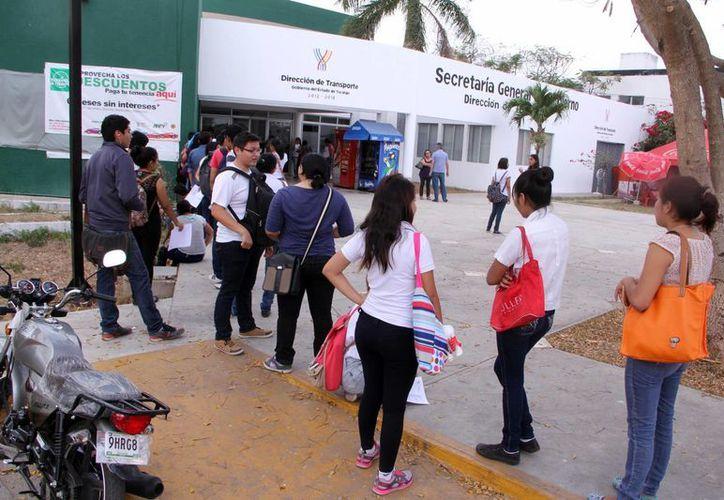 El plazo que se dio para la reposición de credenciales estudiantiles del Citur fue del 2 al 27 de febrero. (José Acosta/SIPSE)