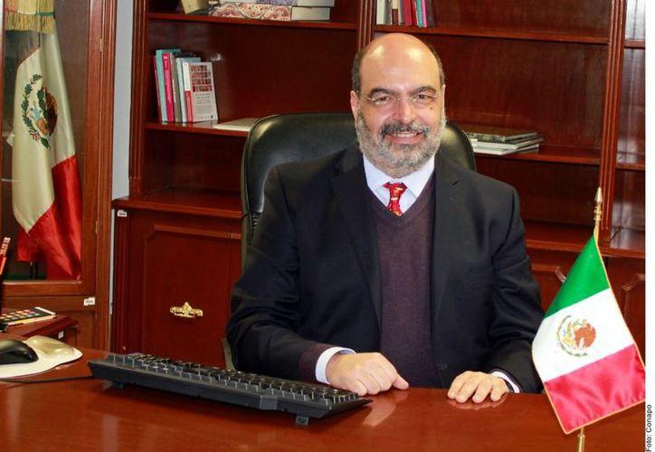 Echarri, quien era actuario por la Facultad de Ciencias de la UNAM y Maestro en Demografía por el Colegio de México. (Foto: Reforma)