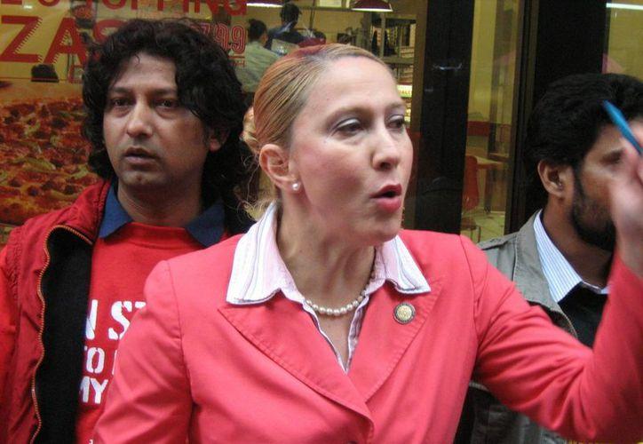 La legisladora Gabriela Rosa también admitió haber mentido a las autoridades sobre sus ingresos y propiedades. (EFE)