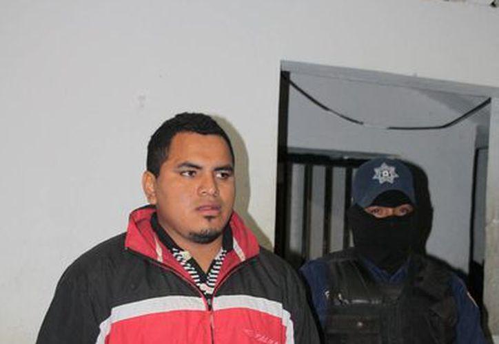 """Carlos Yair Couoh Pérez, (a) """"El Satanás"""" y/o """"El Burgos"""", uno de los desaparecidos.  (Redacción/SIPSE)"""